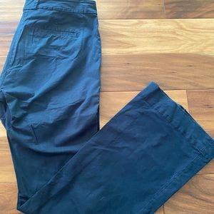 CAbi Navy bootcut pants